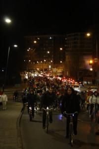 Bici crítica Leon 23F 2012 · Foto Rocío Alegre