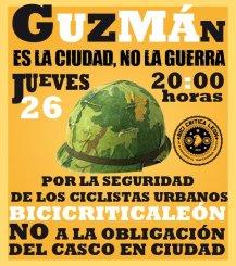 Es la ciudad, no la guerra