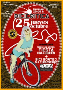 Cartel Bicicritica León Octubre